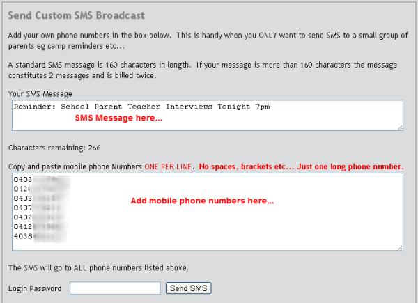 Send SMS2