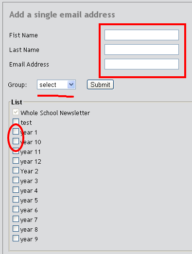 Add Single Email Address2